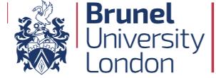logo of Brunnel University